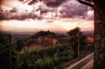 A Raging Sunset