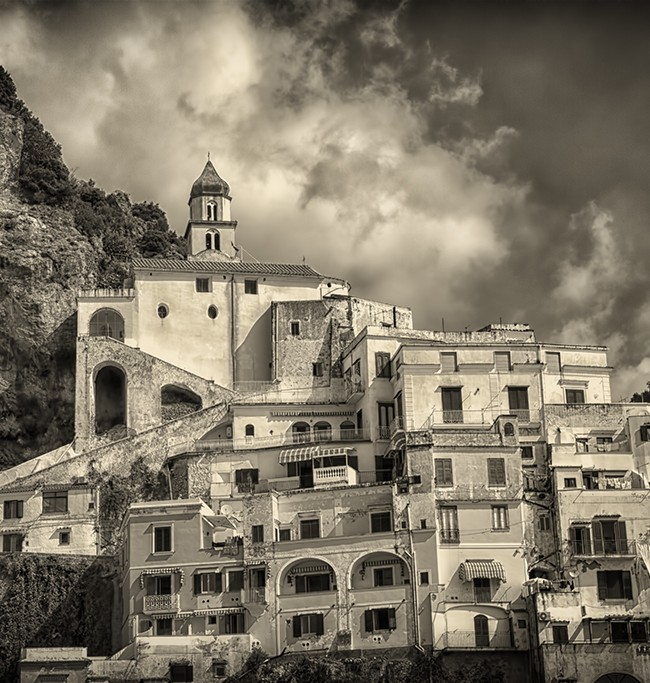 The Hot Journey to Amalfi